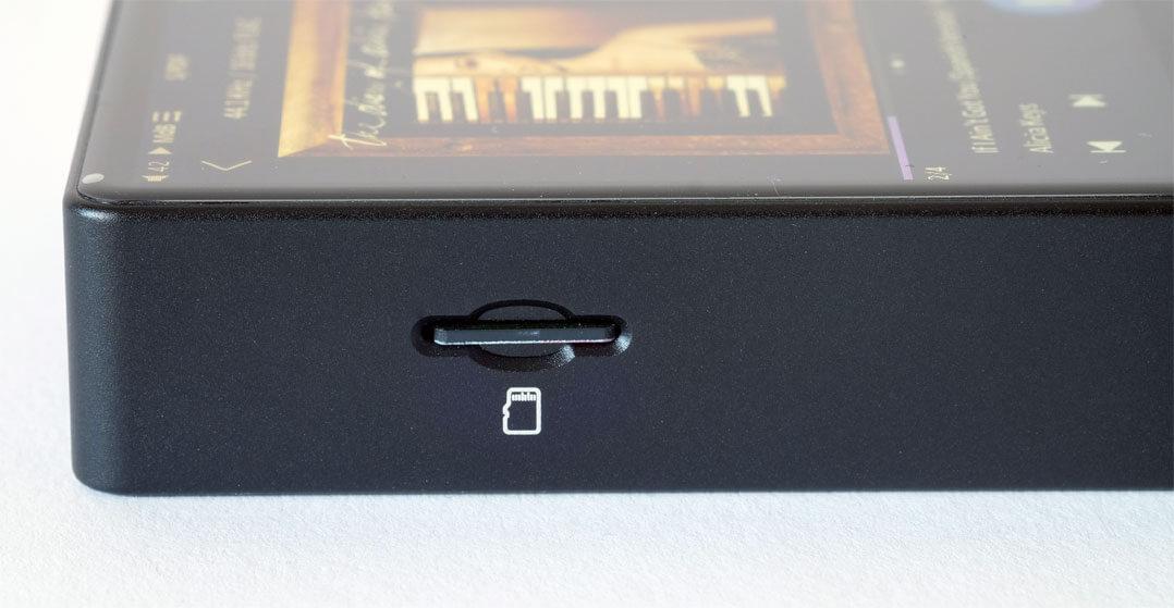 Cayin N3 Pro - Slot für Micro-SD