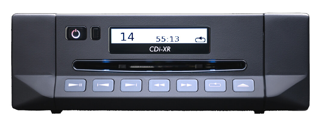 Klare Kante - die Frontseite des Cyrus CDi-XR CD-Spielers