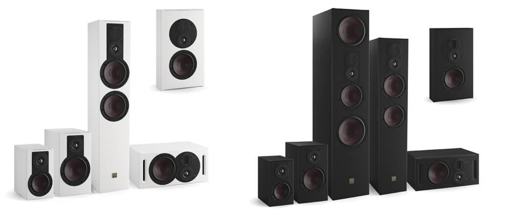 Dali Opticon MK2 Serie: Auch in Schwarz und Weiß erhältlich