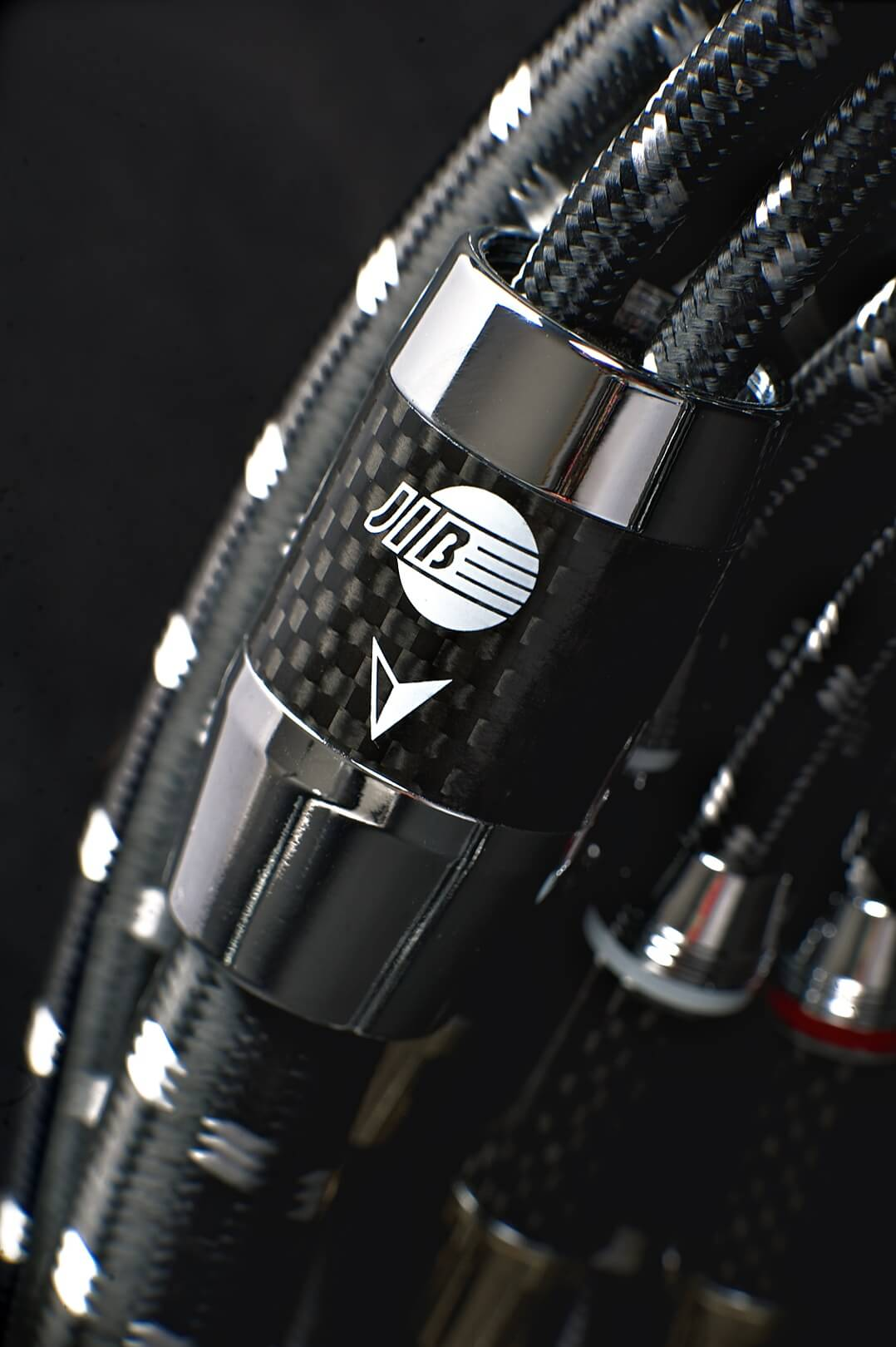 Detail des Bi-Wire-Lautsprecherkabels Boaacoustic Evolution Black.sonic-17.biWire
