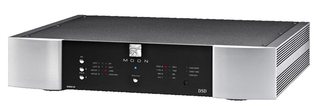 Der streamingfähige Moon 280D D/A-Wandler - auch erst ist jetzt Apple-AirPlay-2-ready