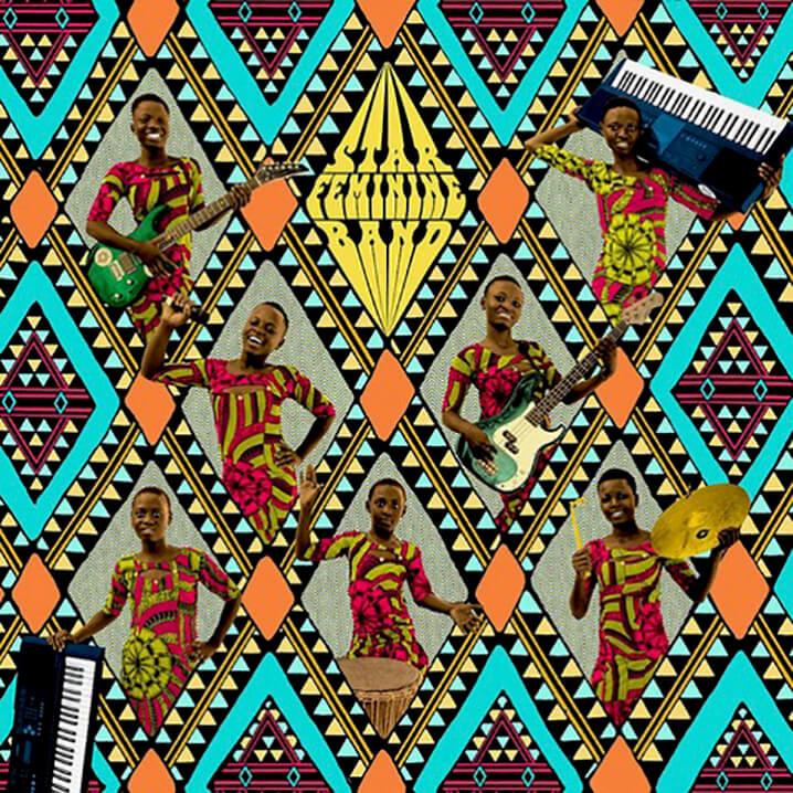 Albumcover: Star Feminine Band – Star Feminine Band