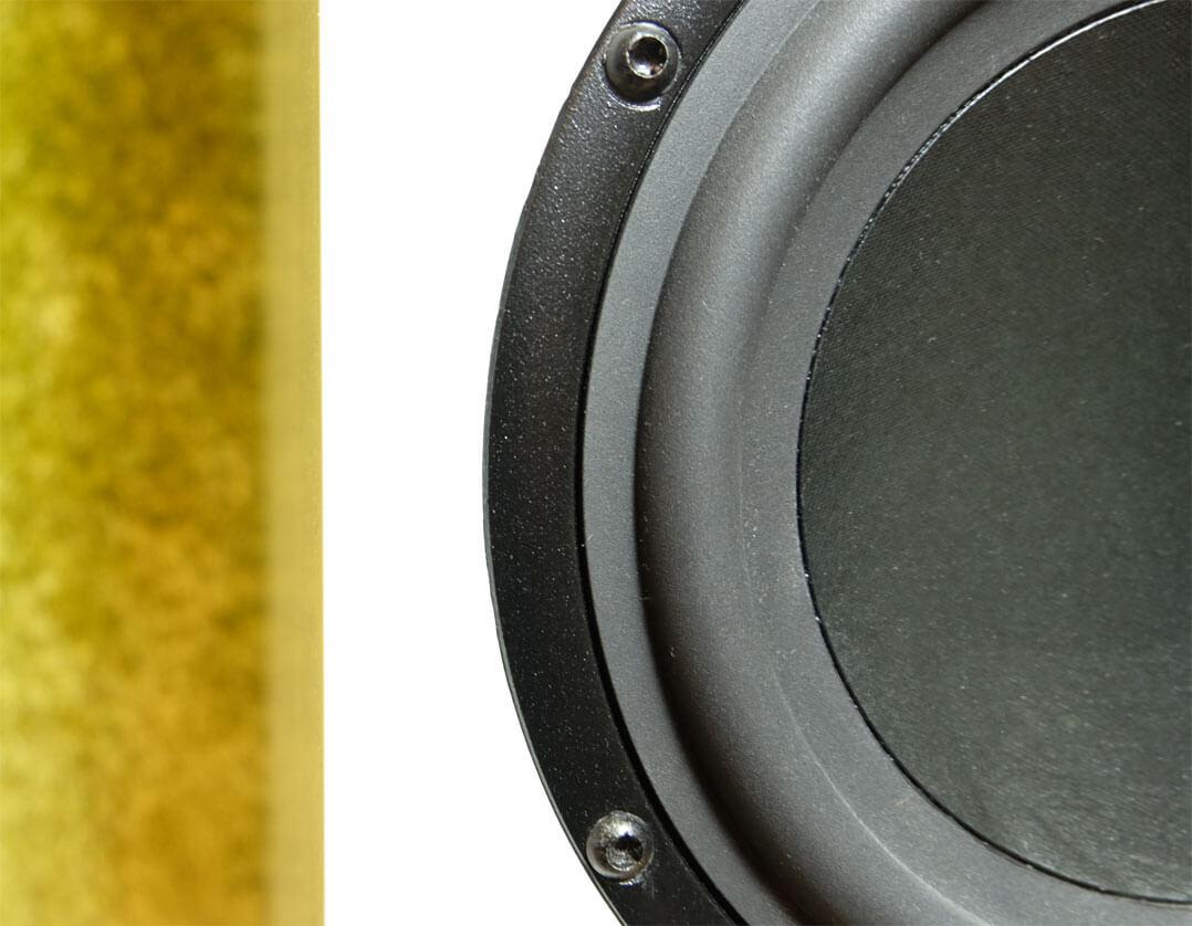 Verschraubte Lautsprecherchassis