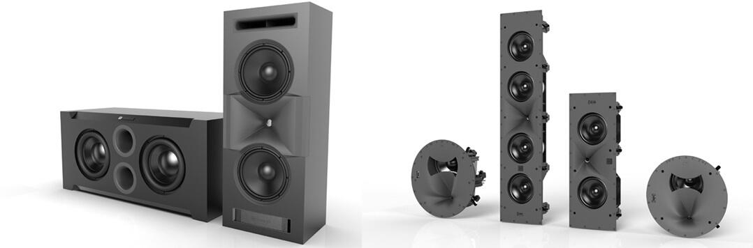 Die JBL Synthesis-Serie: für Wand- und Deckenmontage oder andere besondere Einsatzzwecke geeignet