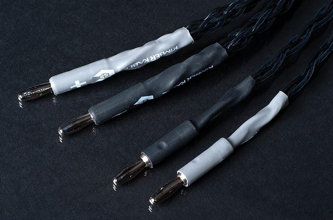Kimber Carbon 8 und Carbon 16 Lautsprecherkabel