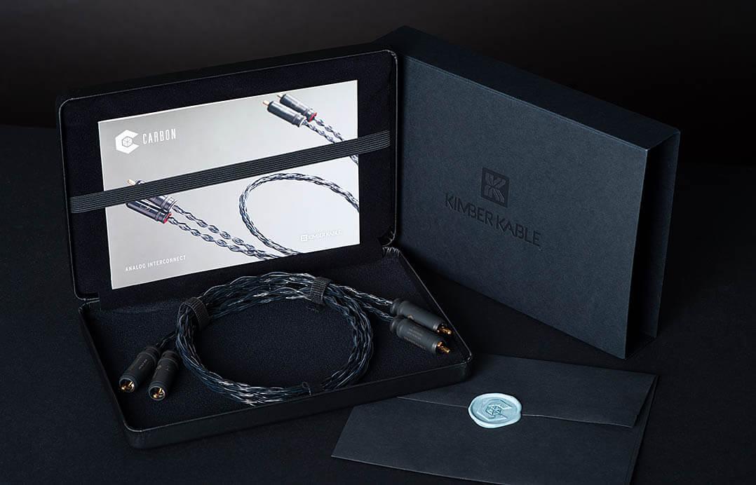 Kimber Carbon Kabel: Verpackung