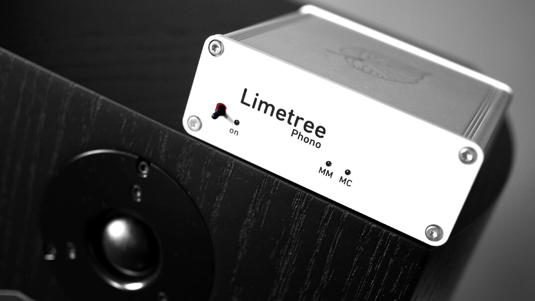 Lindemann Limetree Phono II auf Lautsprecher