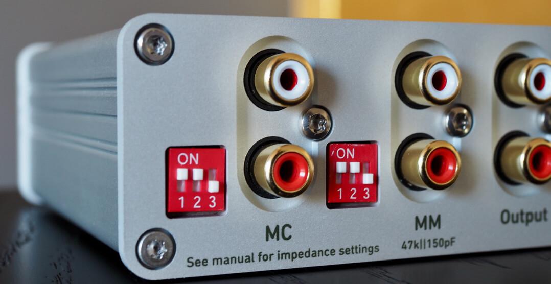 Lindemann Limetree Phono II: Mäuseklavier zur Impedanzeinstellung