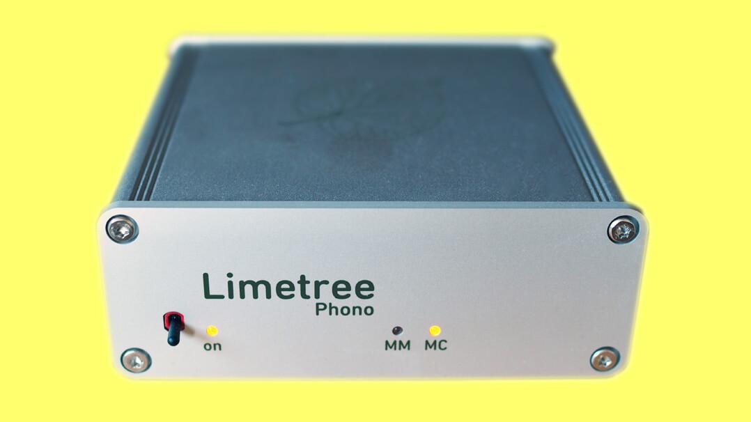 Lindemann Limetree Phono II mit LEDs im Betriebszustand