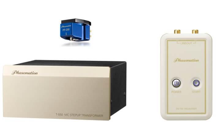 Phasemation MC-Tonabnehmer, Übertrager und Entmagnetisierer