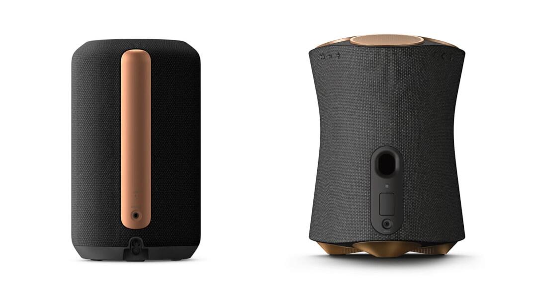 Links der schlanke Sony RA3000, rechts das etwas größere Modell Sony RA5000