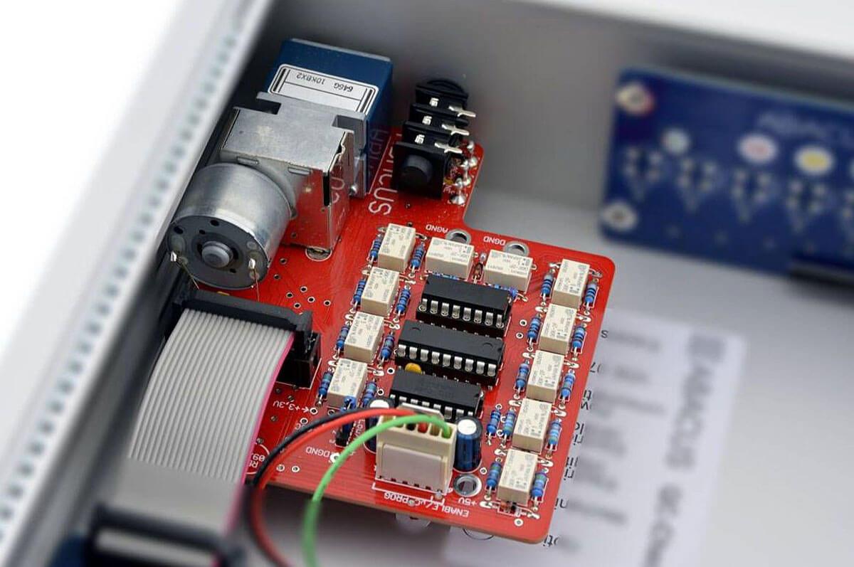 Abacus Preamp 14: Lautstärkeregelung