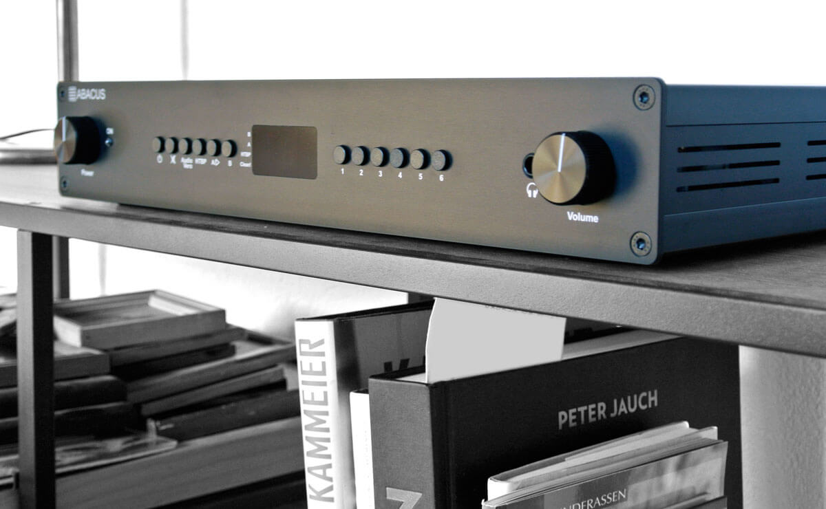 Abacus Preamp 14 im Rack