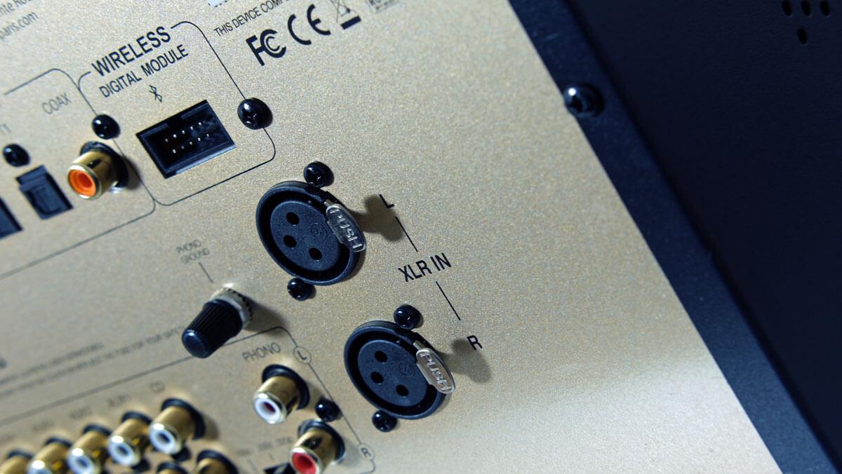 Advance Paris A10 Classic: XLR-Schnittstellen