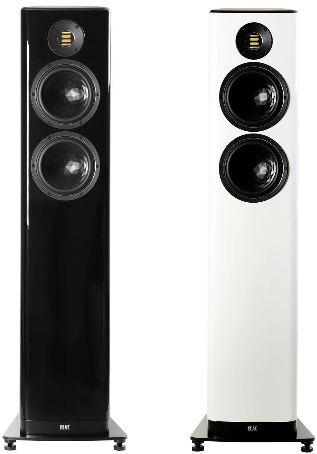 Die Elac Vela FS 408 ist in Schwarz und Weiß zu haben