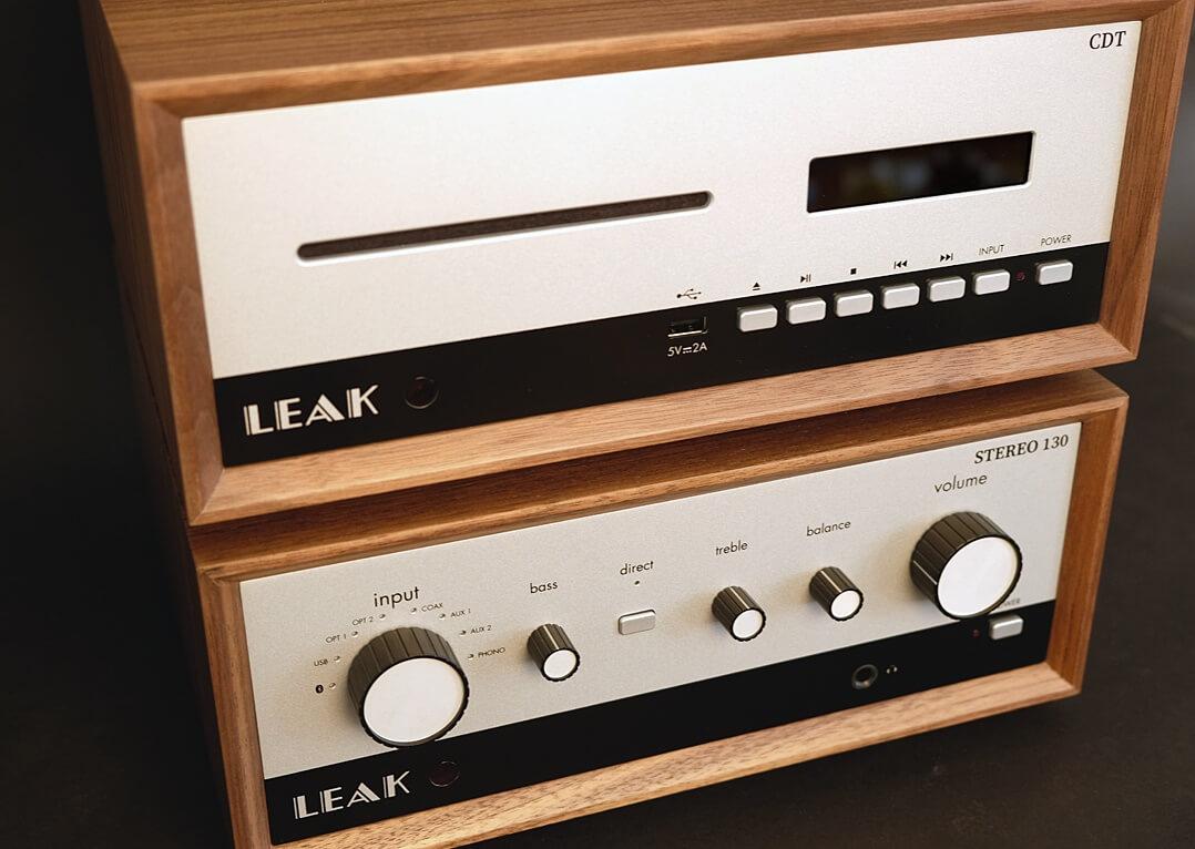 Leak CDT (oben und Leak Stereo 130 (unten)