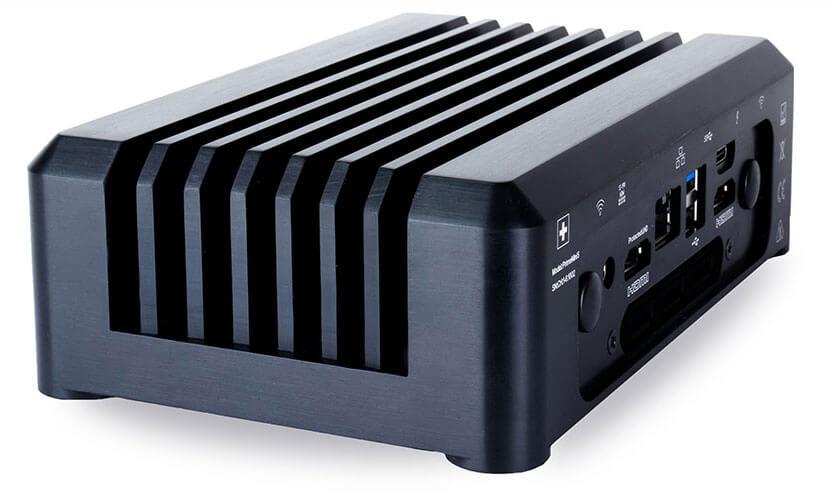 Das Vollaluminiumgehäuse des PrimeMini 5 ist robust und sorgt für Kühlung