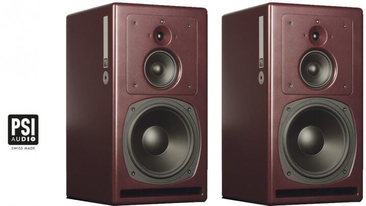 PSI Audio A25-M Dreiwege-Kompaktmonitor: