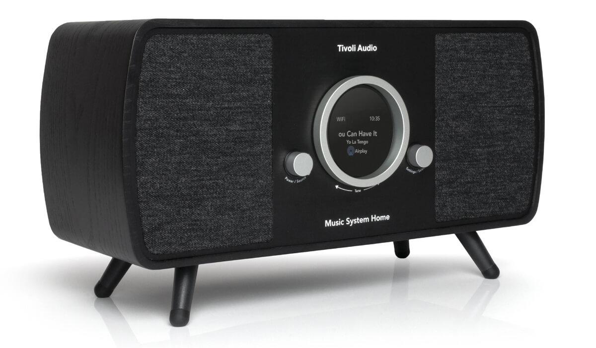 Tivoli Music System Home 2 Musiksystem Schwarz