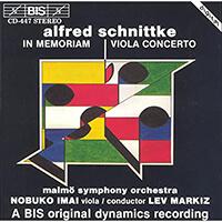 Alfred Schnittke - Nobuko Imai und dem Malmö Symphony Orchestra