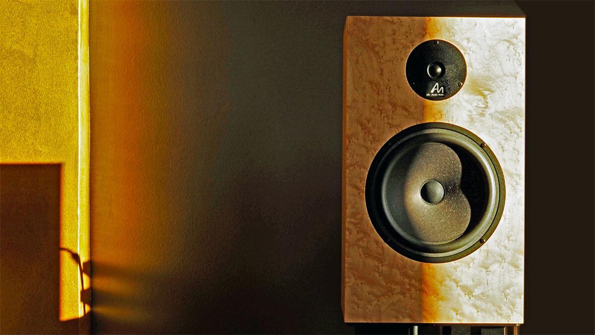 Audio Note AN-K/SPe im Sonnenlicht