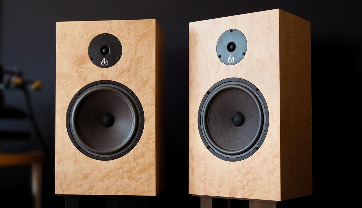 Audio Note AN-K/SPe: Lautsprecherpaar von vorne