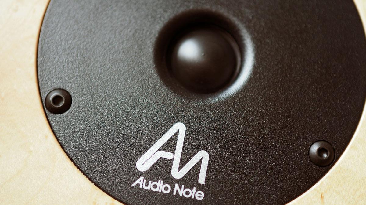 Audio Note AN-K/SPe: Hochtonkalotte in der Nahaufnahme
