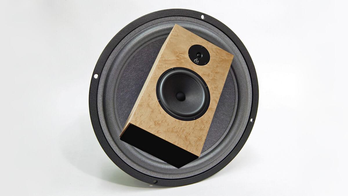 Audio Note AN-K/SPe vor Konustreiber