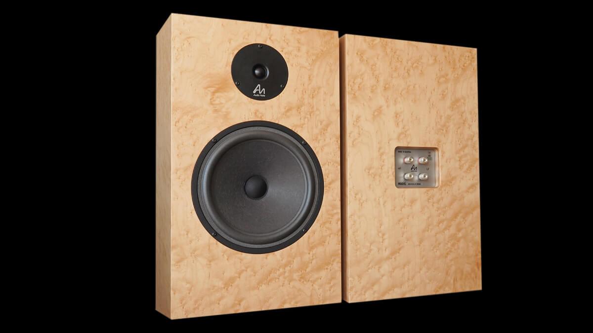 Audio Note AN-K/SPe: Vorderseite und Rückseite
