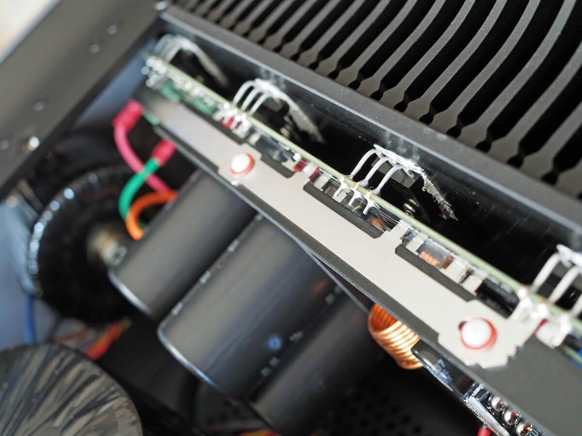 Cambridge Audio Edge M: Leistungstransistoren