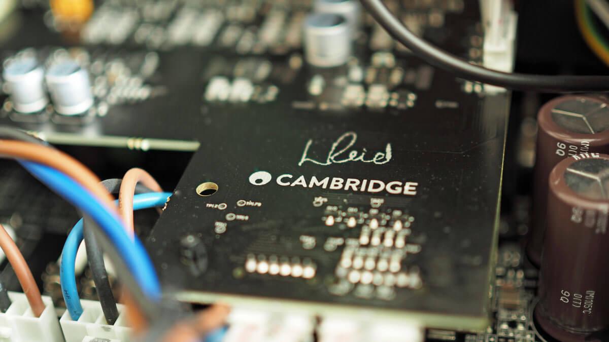 Cambridge Audio Edge M: Detail vom Innenleben