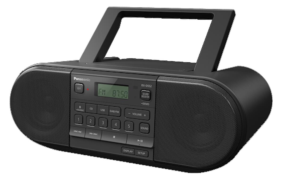 """Natürlich ist nicht nur der Panasonic RX-D552 mit einem """"Henkel"""" zum Tragen ausgestattet"""