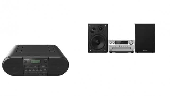 Panasonic SC-PMX802 und RX-D500-Serie