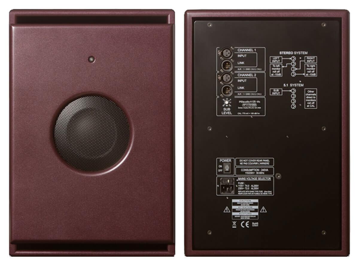 PSI Audio A125-M Rückseite