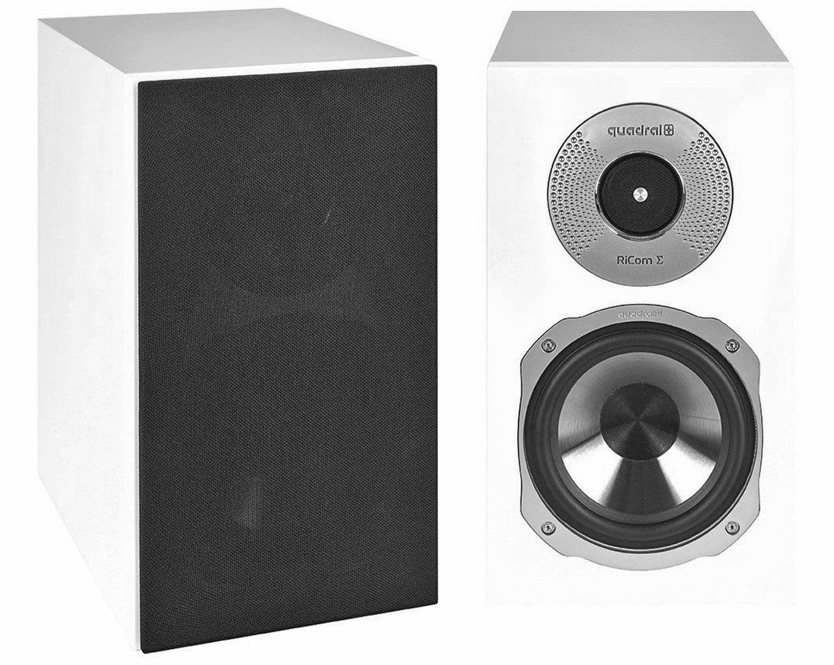 Die Quadral Signum 20 sind Zweiwege-Lautsprecher mit Bassreflexsystem