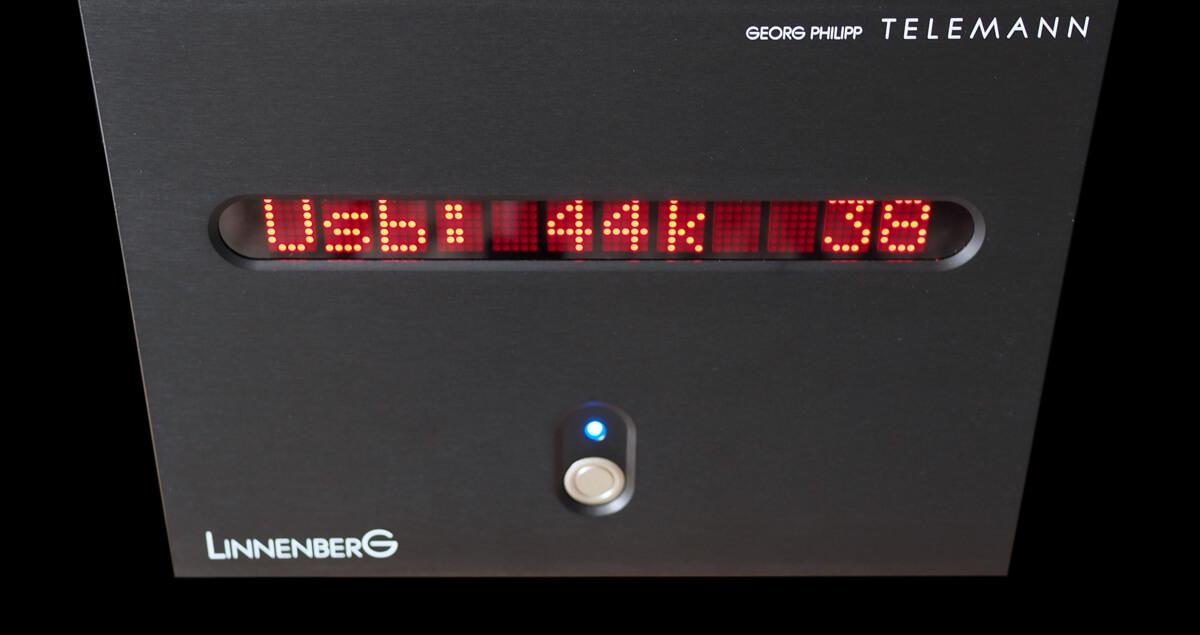 Linnenberg G. P. Telemann DAC/Vorverstärker im USB-Betrieb