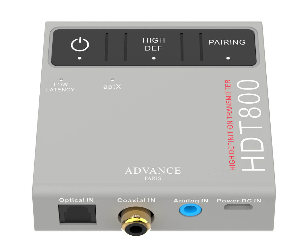 Advance Paris HDT800 Bluetooth-Transmitter/Sender in der Draufsicht