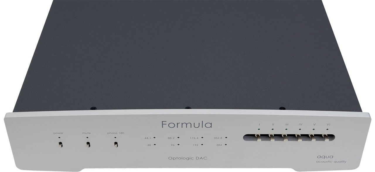 Aqua Formula xHD Rev.2 - vorne/oben
