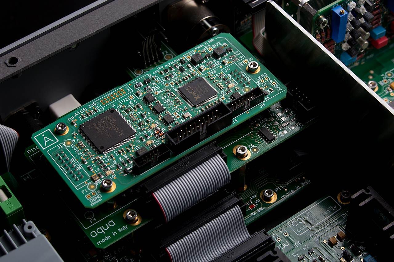 Die USB-Receiver-Platine im Aqua Formula xHD Rev.2