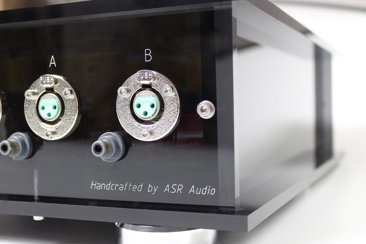 ASR Basis Exclusive HV: symmetrischer Anschluss