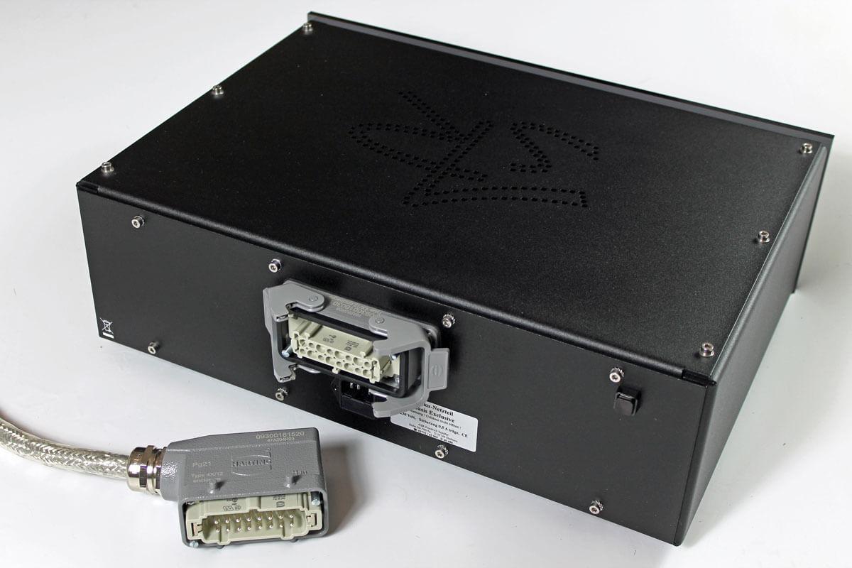 ASR Basis Exclusive HV: Stecker für das Akkunetzteil
