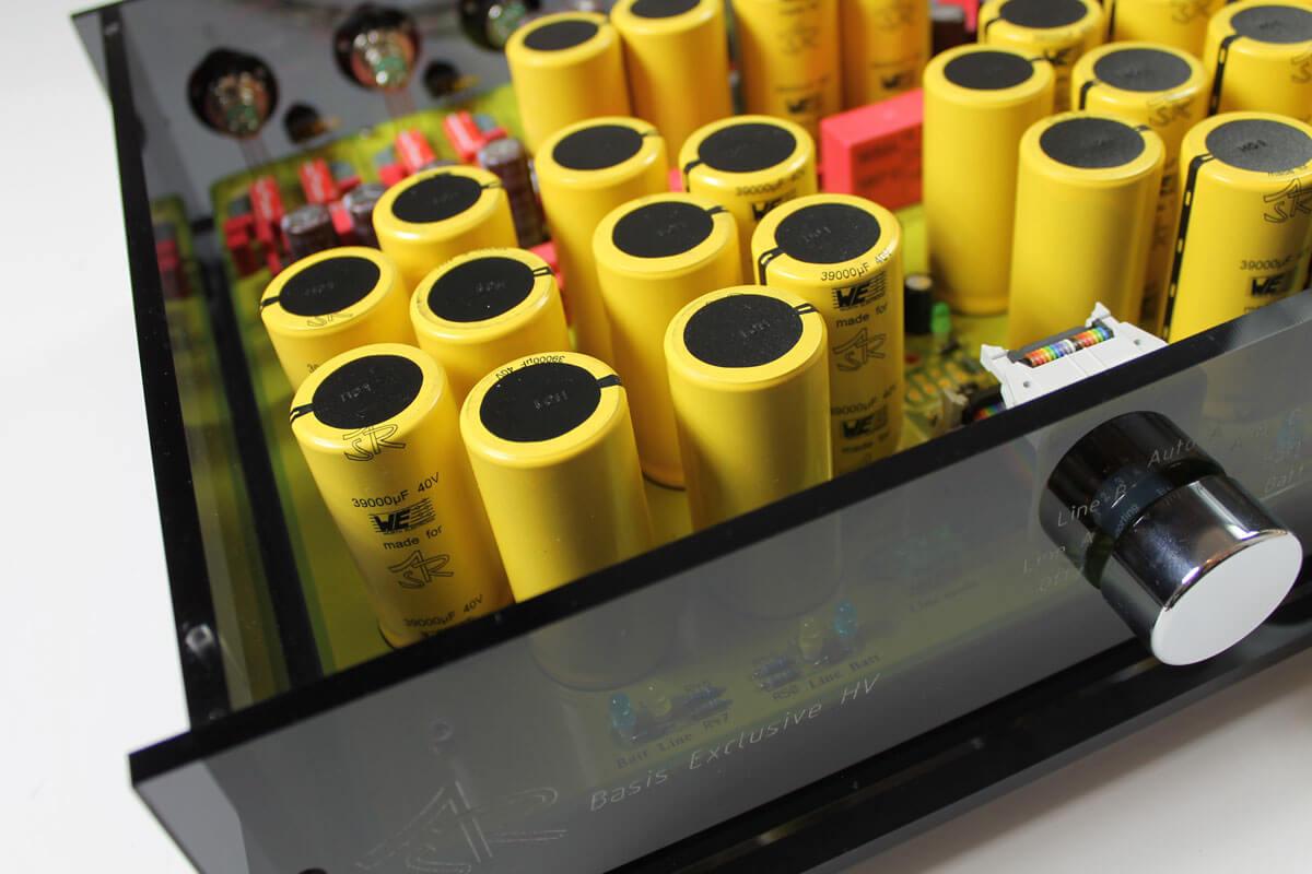 ASR Basis Exclusive HV: Siebkondensatoren