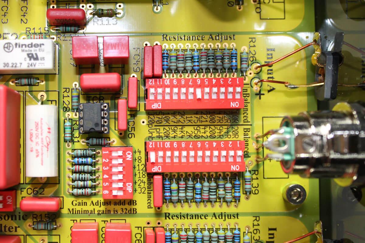 ASR Basis Exclusive HV: DIP-Schalter