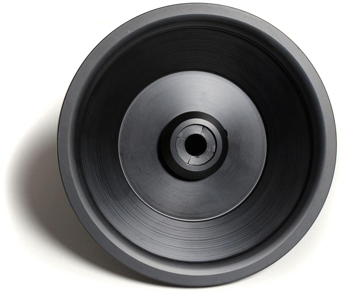 Die Black Forest Audio DÄD!CLÄMP von unten betrachtet