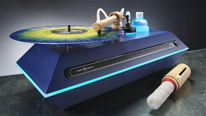 Keith Monks Plattenwaschmaschinen bei IAD