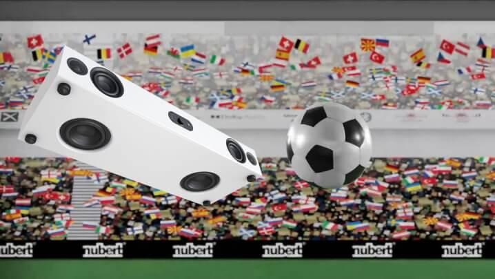 Nubert Soundbars: Aktion zur Fußball-EM 2021