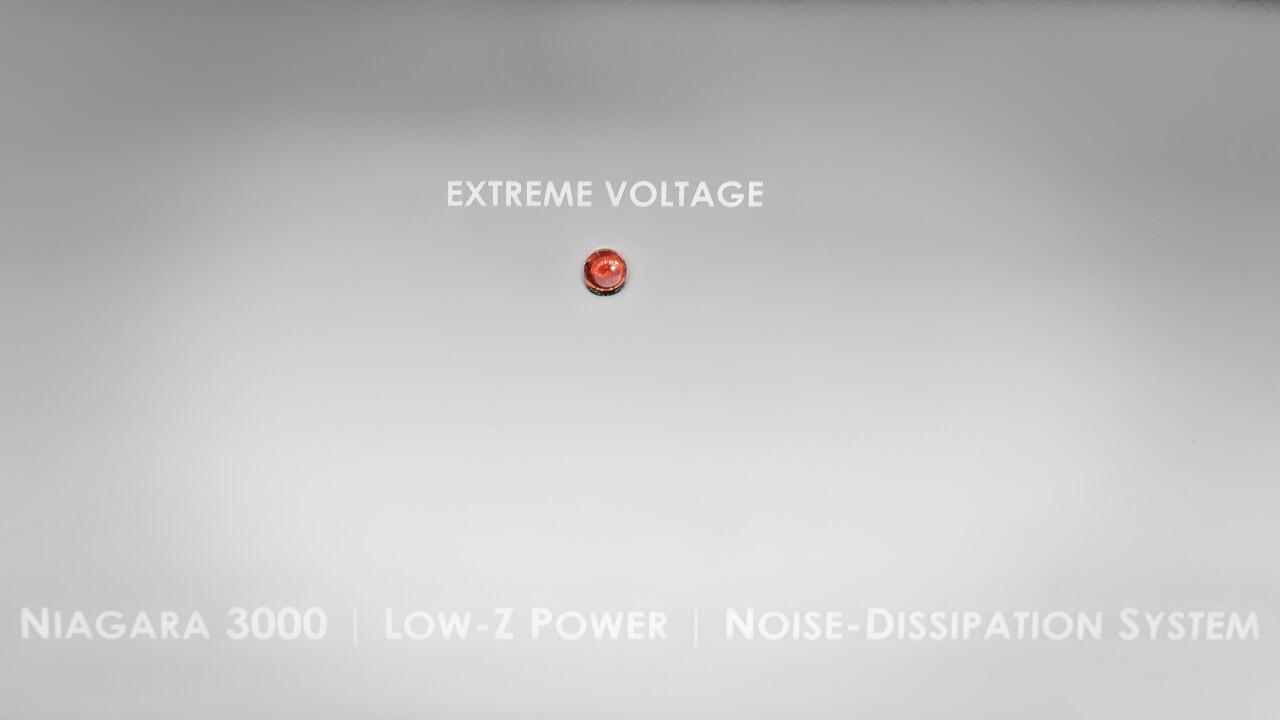 Audioquest Niagara 3000: Überspannungs-LED