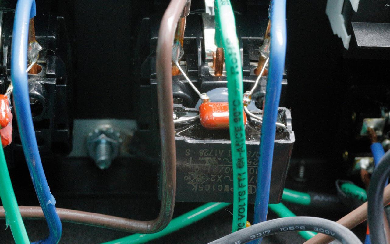 Audioquest Niagara 3000: Detailaufnahme innen