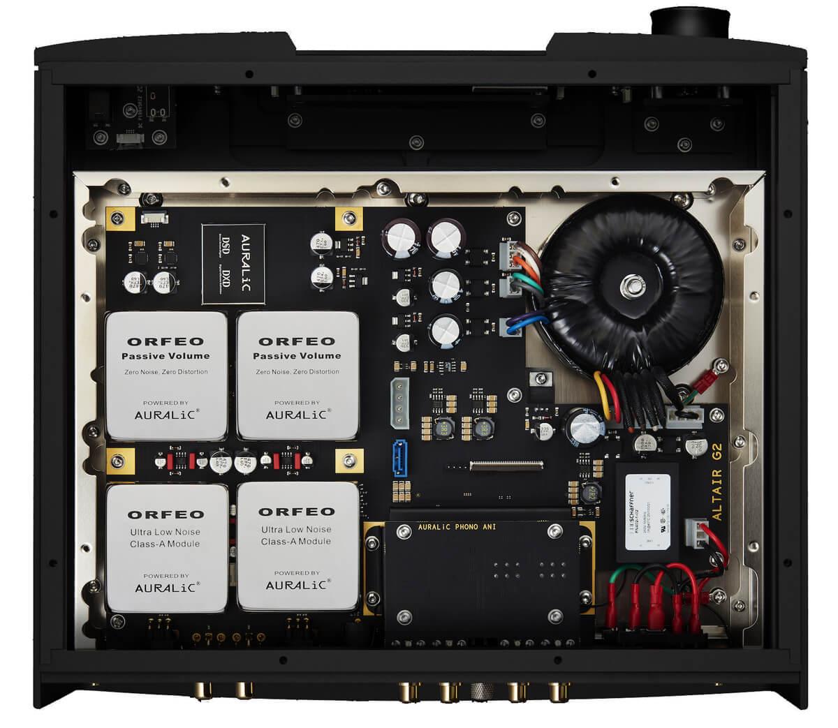 Auralic Altair G2.1 Digital Audio Streamer Innenleben