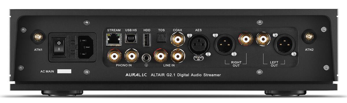 Auralic Altair G2.1 Digital Audio Streamer Rückseite